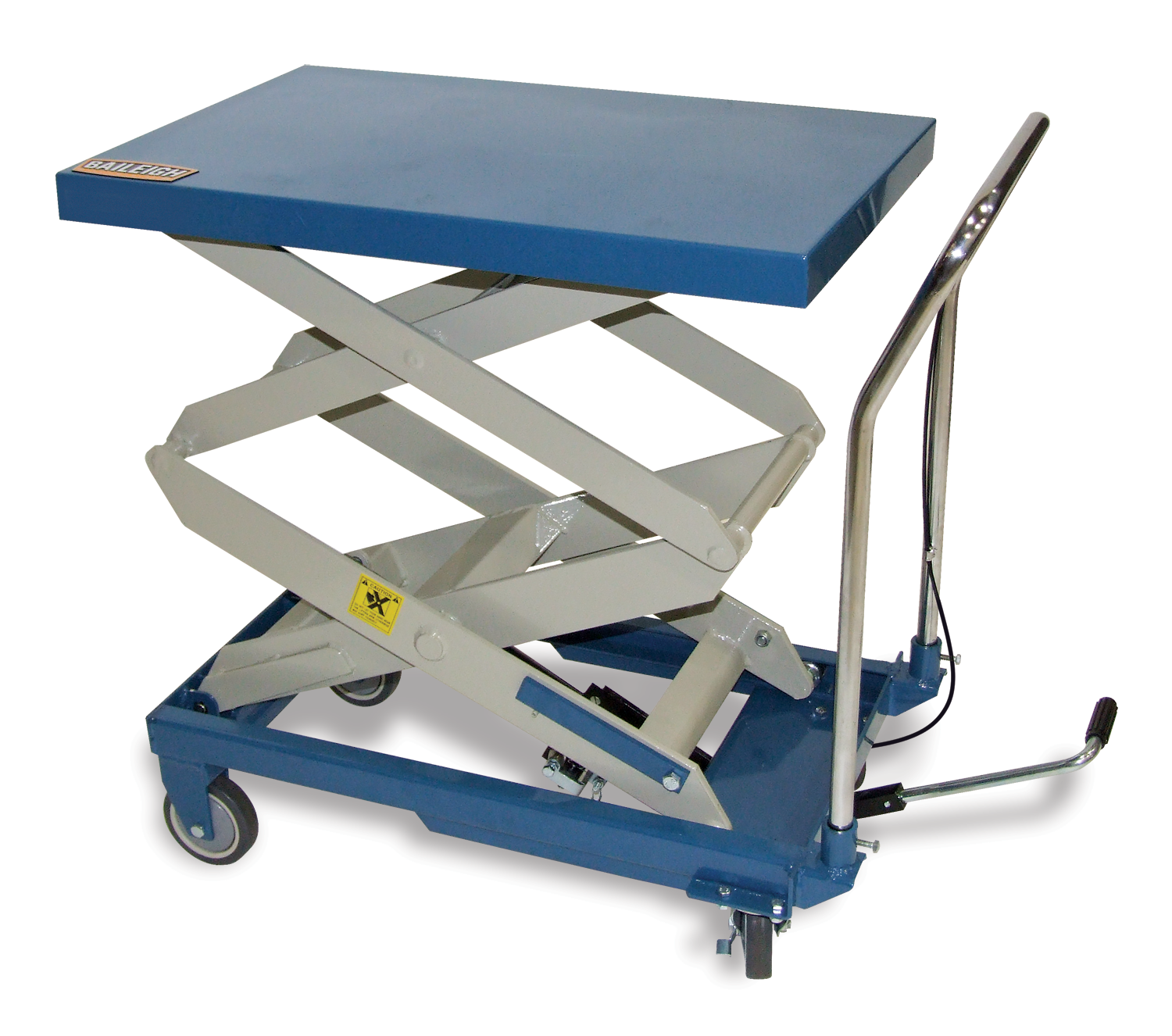 Double Height Lift Table B Cartx2 Baileigh Industrial
