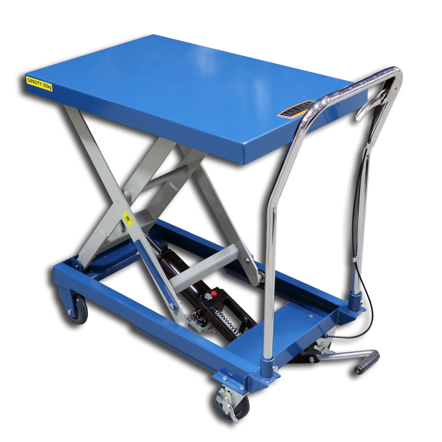Used Hydraulic Lift Tables : Hydraulic lift tables cart baileigh