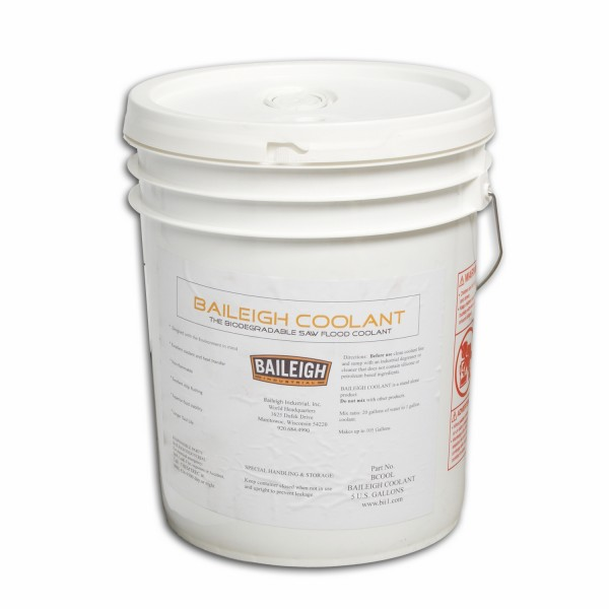 5 Gallon Baileigh Saw Coolant