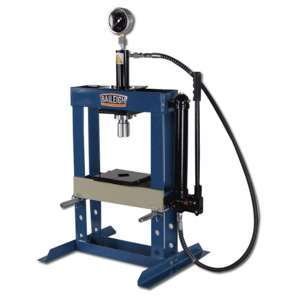 Hydraulic Shop Press | H-Frame Press | Baileigh Industrial