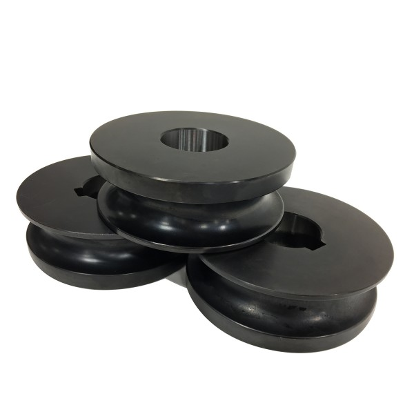 "1/2"" steel round pipe roll set"