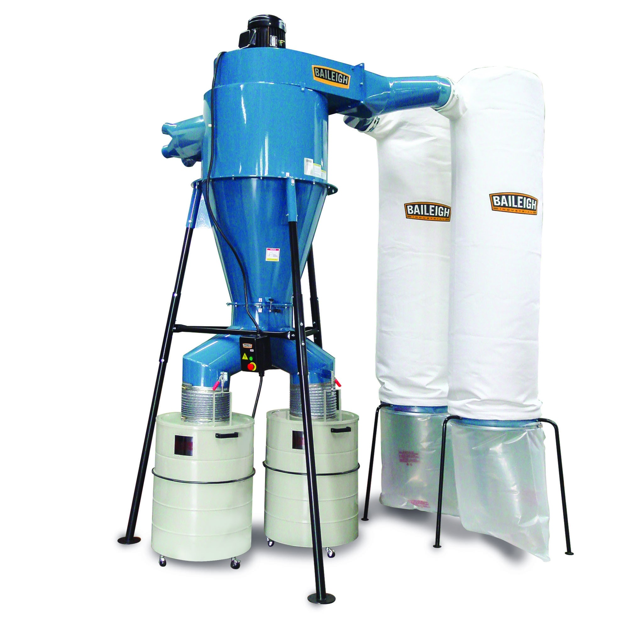 Cyclone Dust Extractor Large Dust Collector Baileigh Industrial Baileigh Industrial