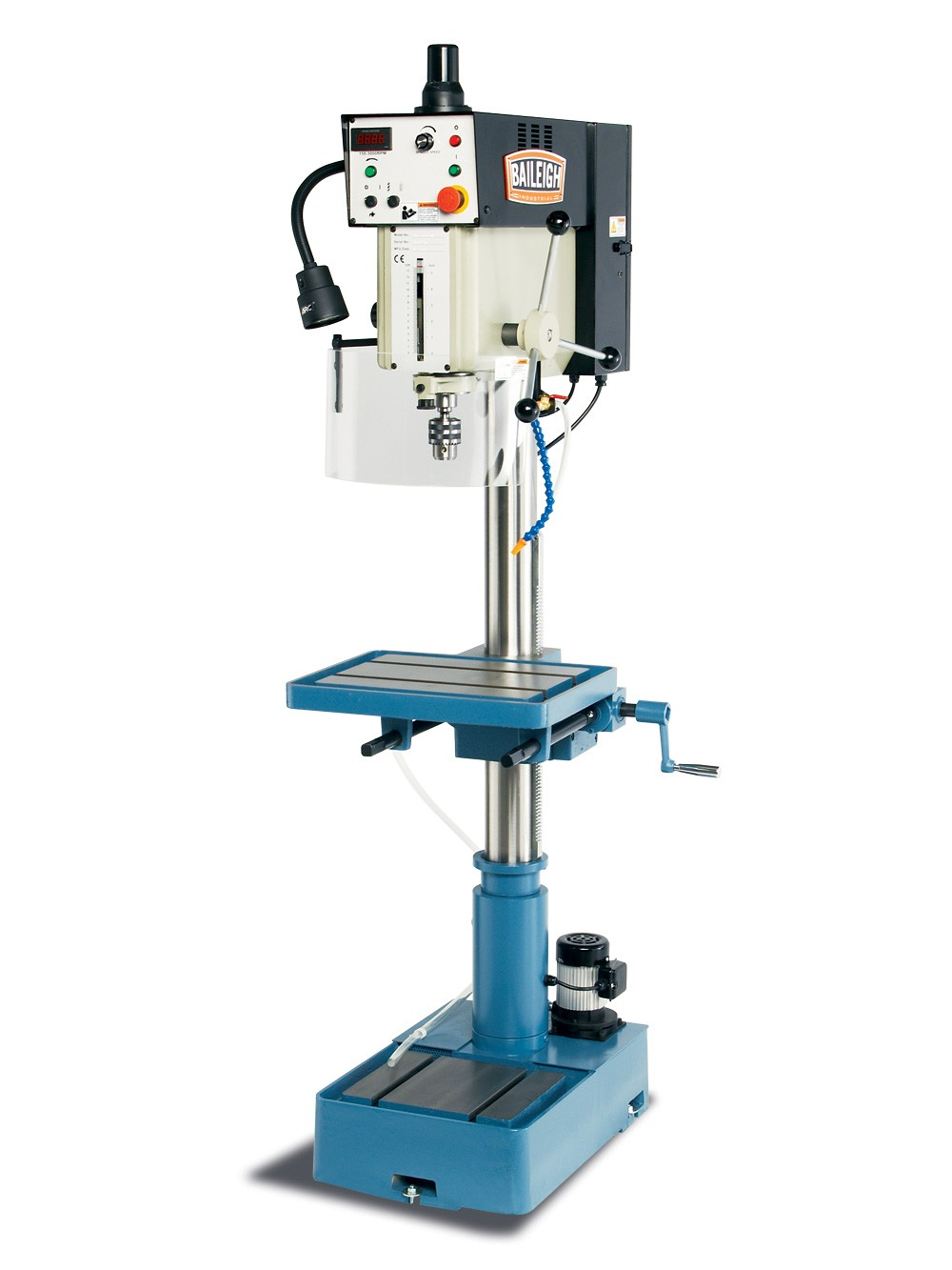 drill press Benchtop and floor model drill presses used for drilling and tapping in steel, aluminum, and more.