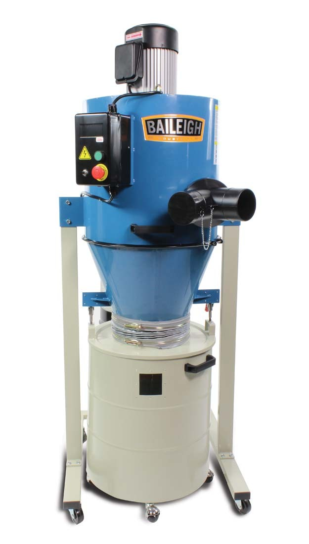 Dust Removal Fans : Cyclone dust extractor dc c industrial