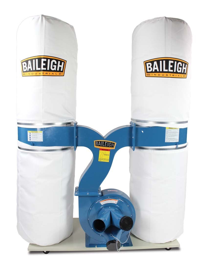 Dust Collector Dc 2300b Baileigh Industrial