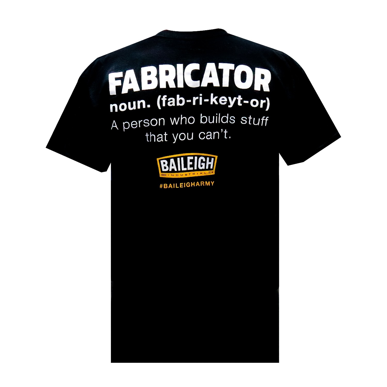 Baileigh Army Fabricator T-Shirt-Youth L