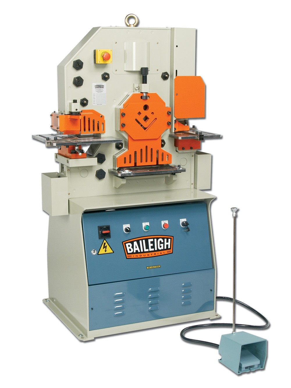 Hydraulic Iron Worker Sw 503 Baileigh Industrial