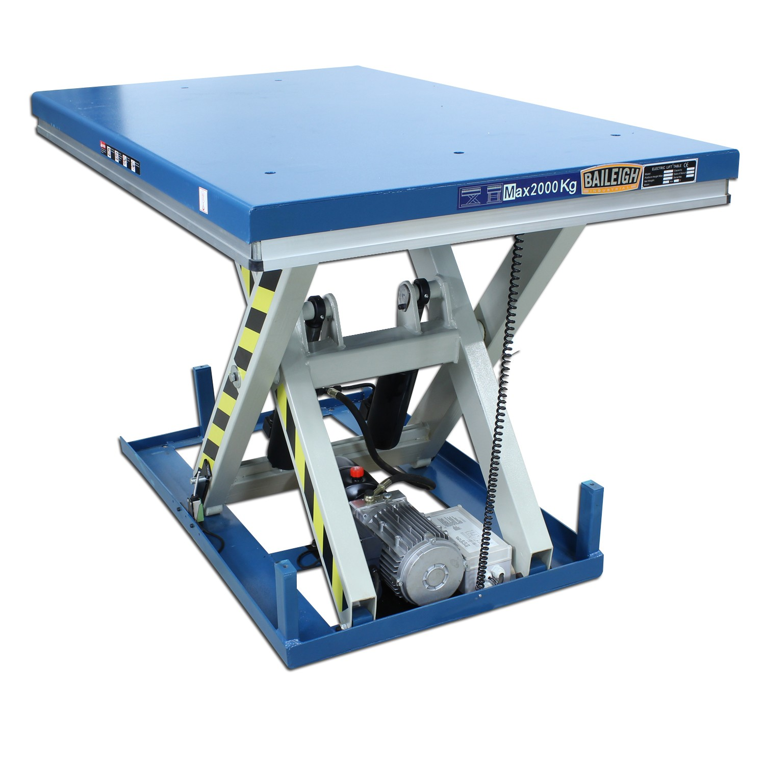 Hydraulic Work Tables : Industrial lift tables hlt hydraulic work table