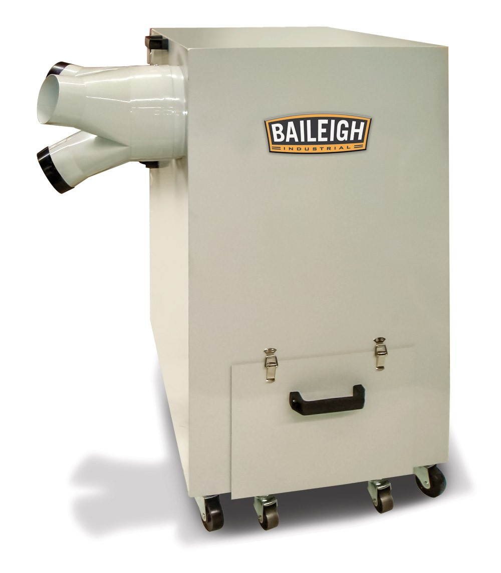 Metal Dust Collector Mdc 1800 Baileigh Industrial