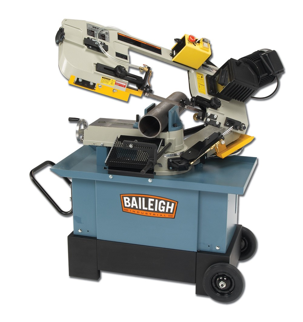Horizontal Bandsaw Vertical Band Saw Baileigh Industrial