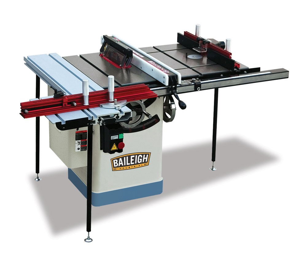 Table Saw Station Industrial Table Saw Baileigh Industrial