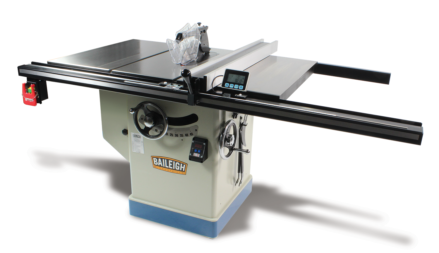 Professional Cabinet Table Saw Ts 1248p 36 Baileigh Industrial