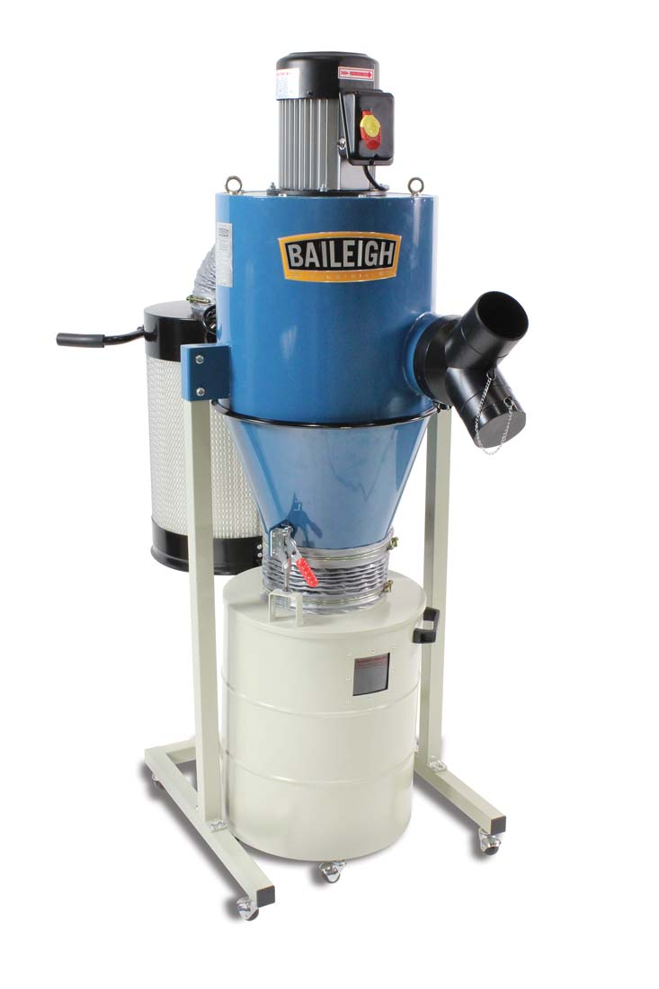 Cyclone Dust Collector Dc 600c Baileigh Industrial