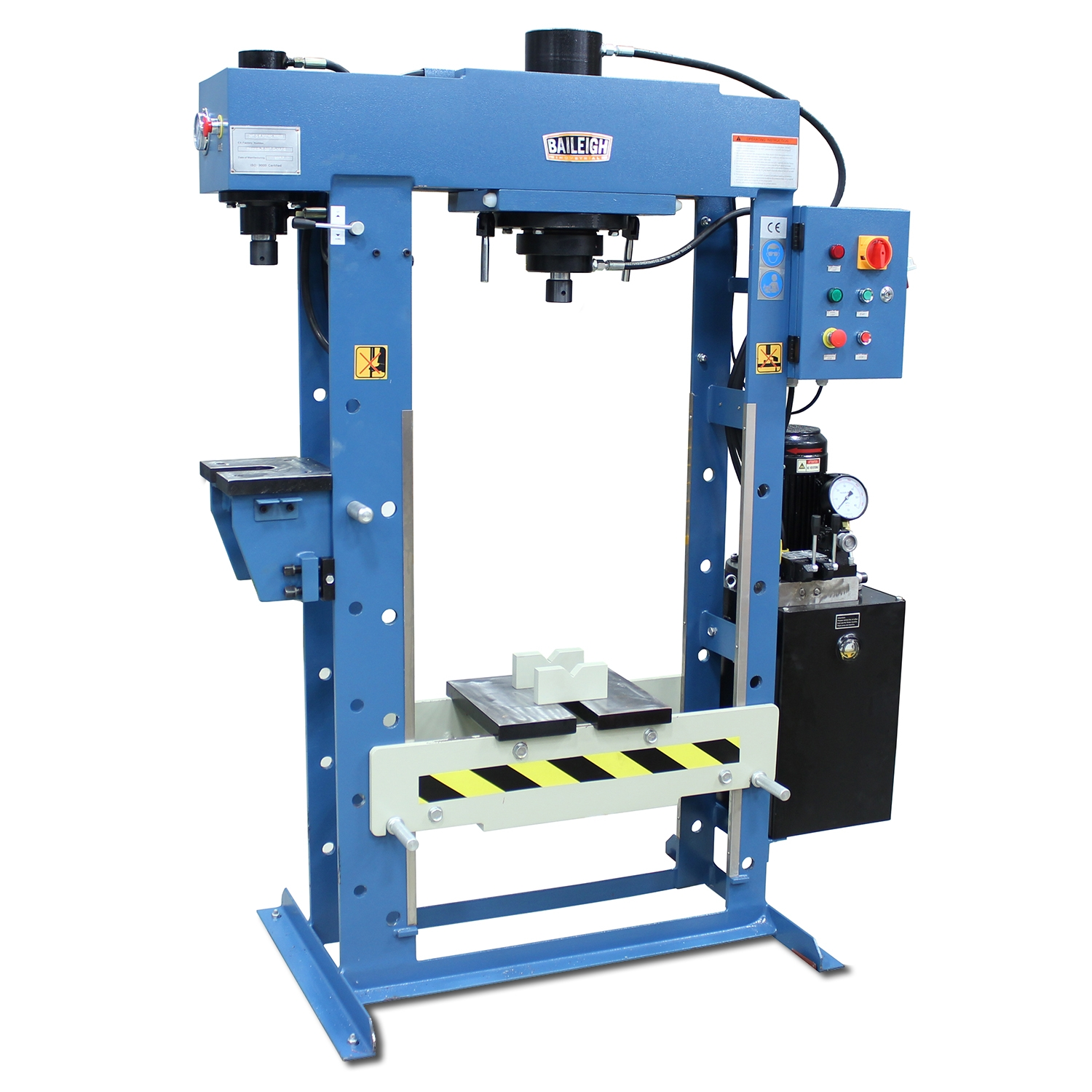 Hydraulic Workshop Press - HSP-30M-C | Baileigh Industrial