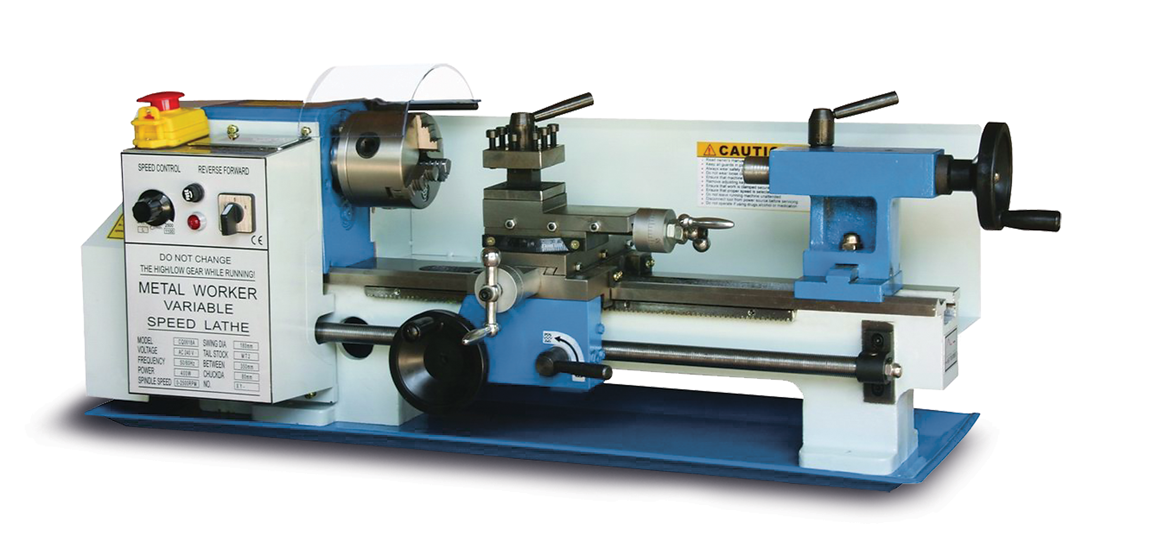 Bench Top Lathe Pl 712vs Baileigh Industrial