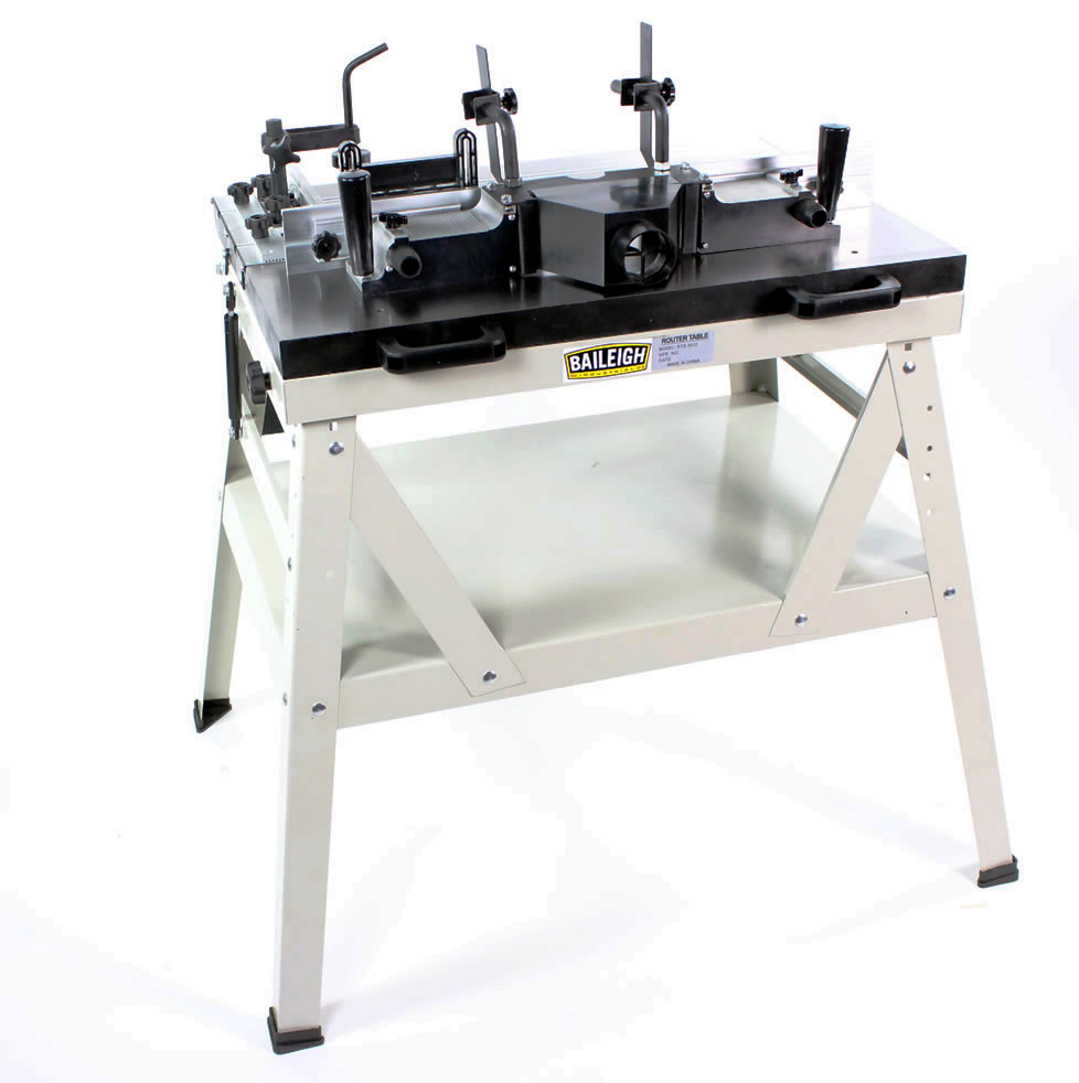 Sliding router table rts 3012 baileigh industrial for Table router