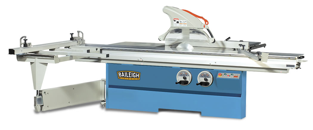 Sliding table saw sts 14120 baileigh industrial for 10 foot sliding table saw