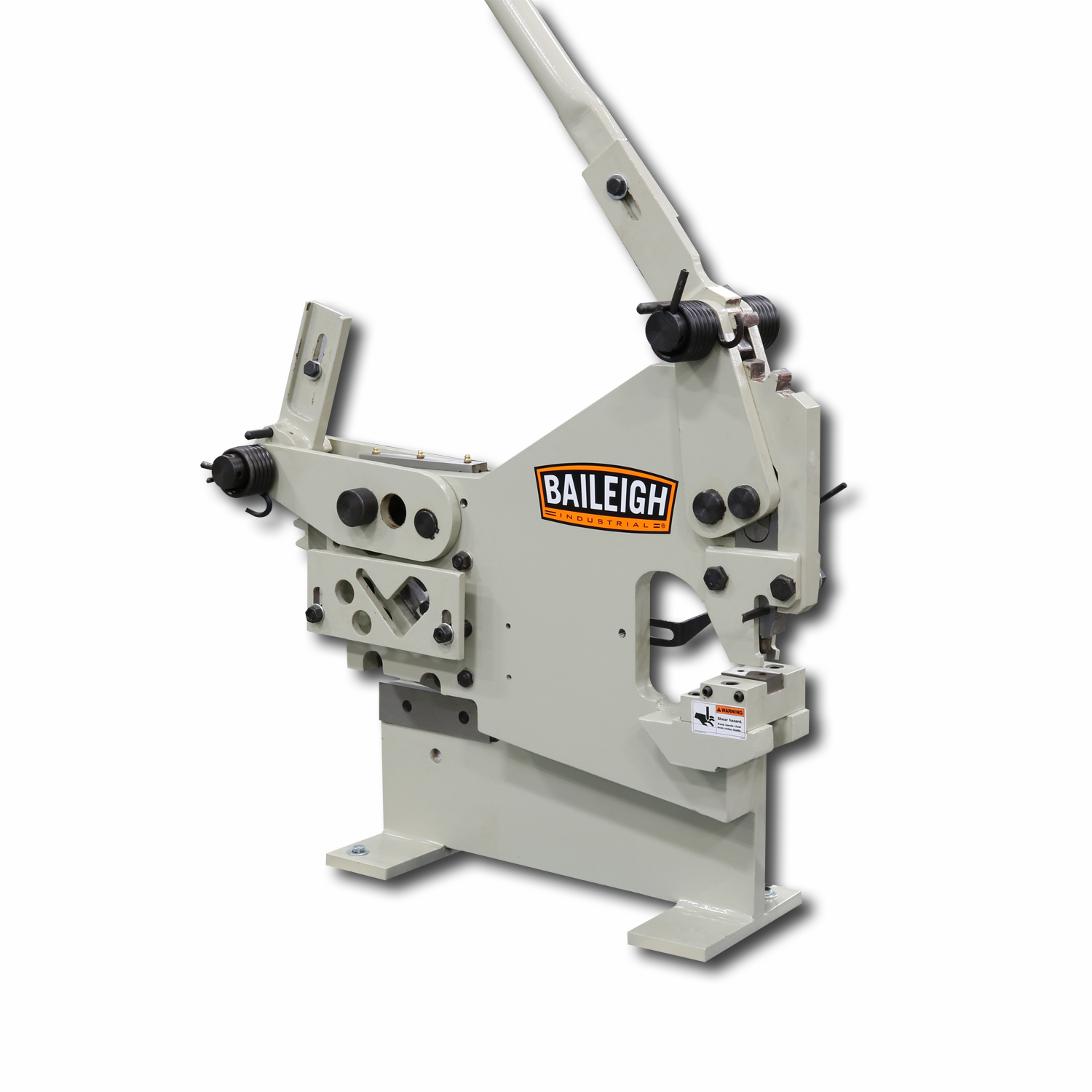 Manual Ironworker Manually Operated Sw 22 Baileigh