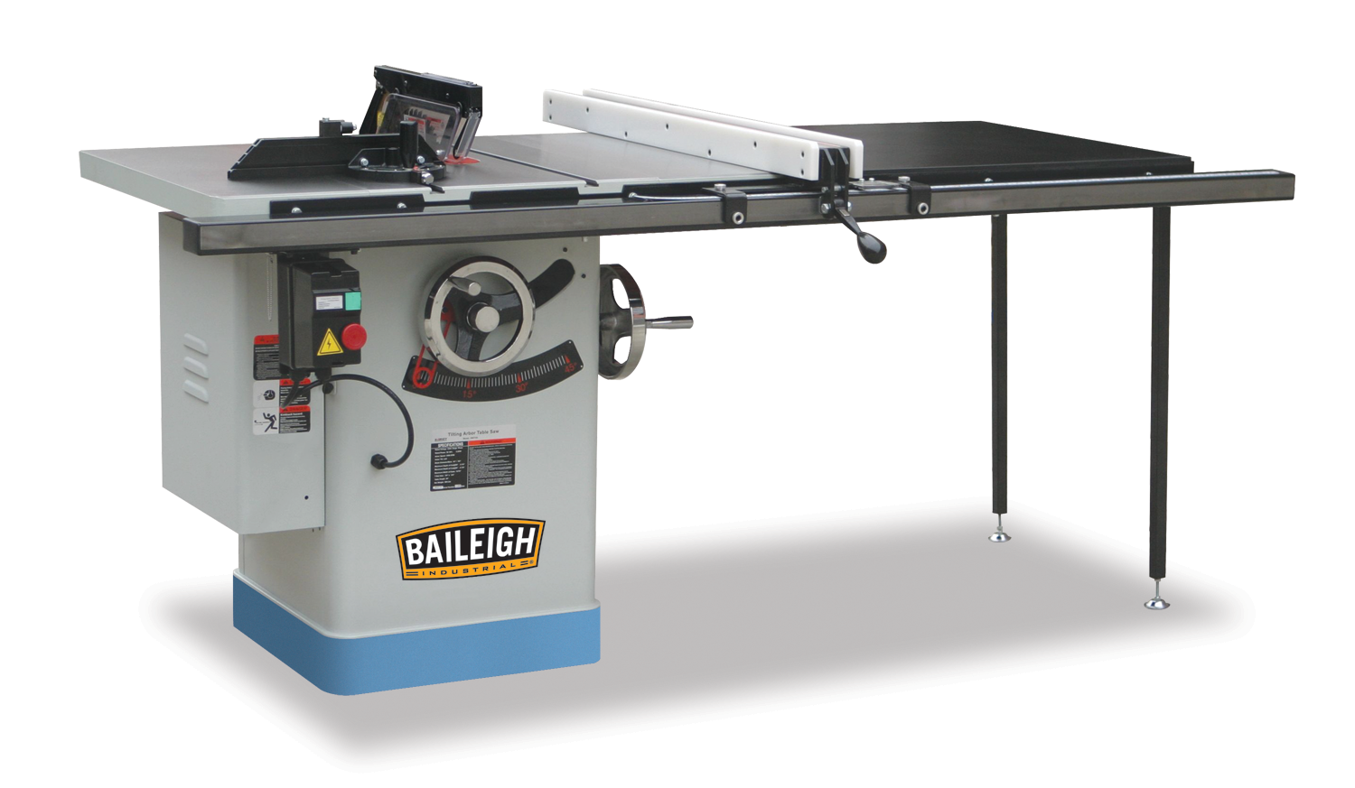 Riving Knife Table Saw Ts 1040p 50 Baileigh Industrial