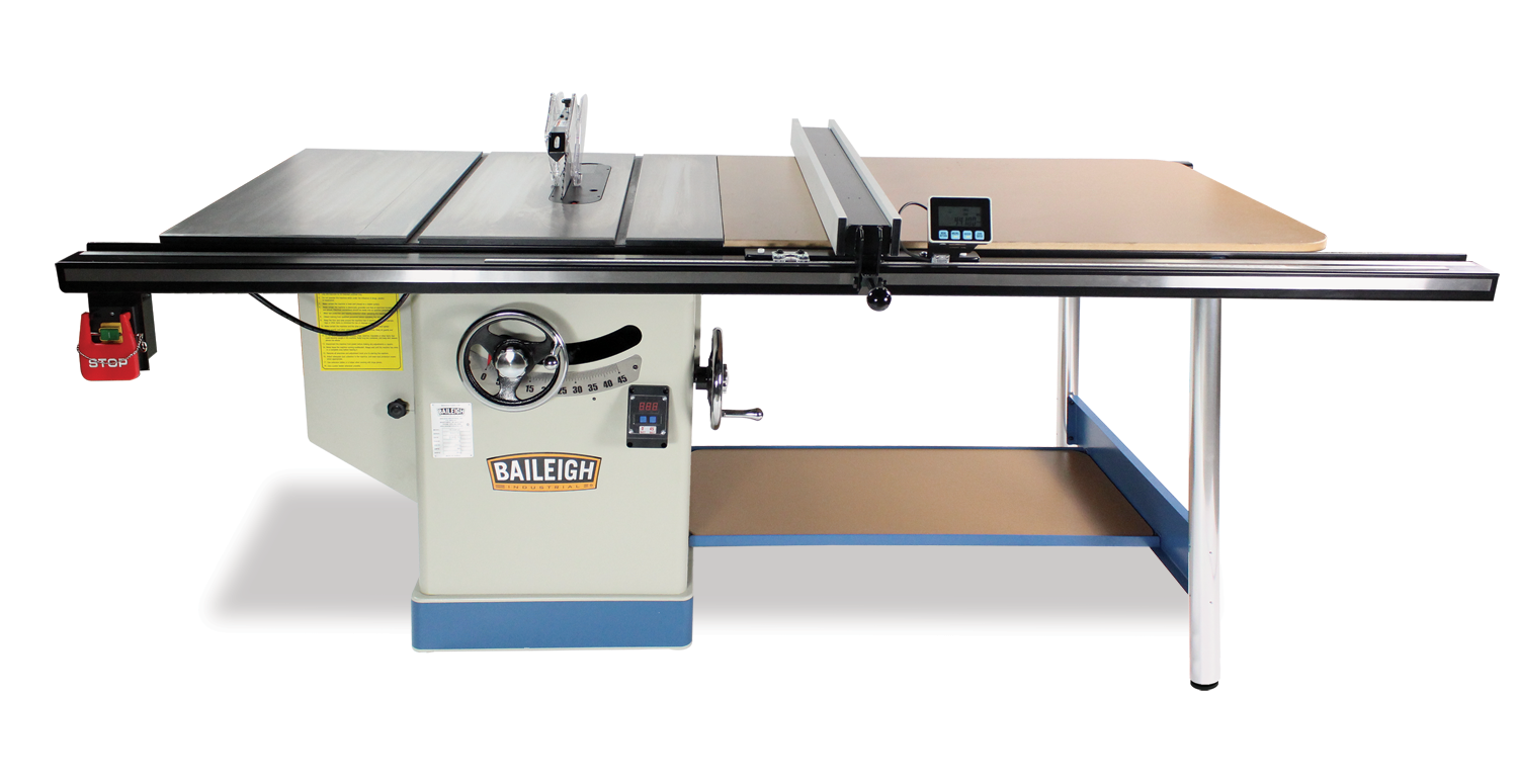 Professional Cabinet Table Saw Ts 1248p 52 Baileigh Industrial